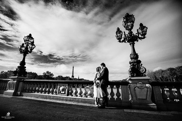 Davide Verrecchia - wedding in Paris - Destination wedding Paris - Tour Eiffel wedding session - fotografo matrimonio Milano - Torino