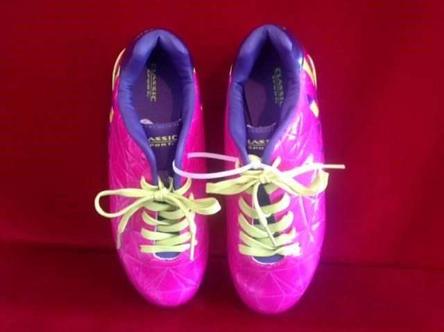 Youth Classic Sport Soccer Cleats Girls Shoes Size  5.0 - 3020GPKPU, No Box #ClassicSport
