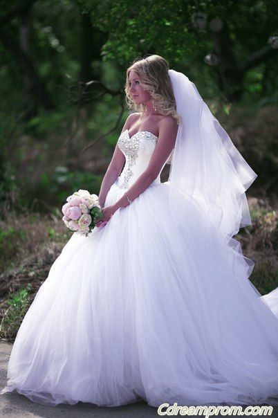 princess wedding dress #princess #wedding dresses