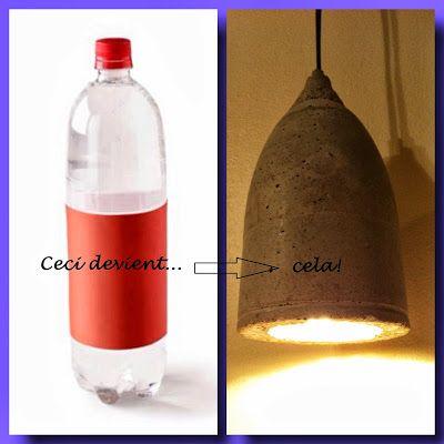 Initiales GG : le plein didées pour tout relooker !: DIY : une lampe en béton!