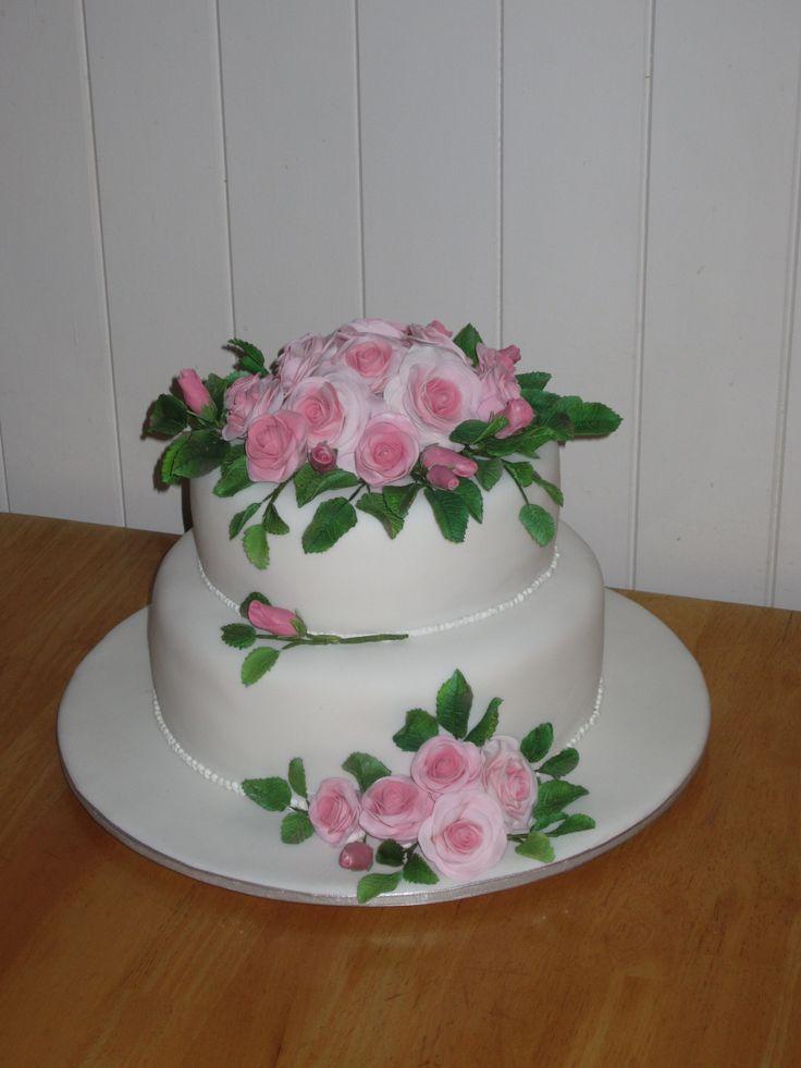 J + J Wedding Cake.
