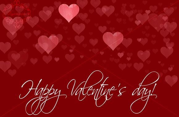 Happy Valentine's day template by digitalopedia on Creative Market