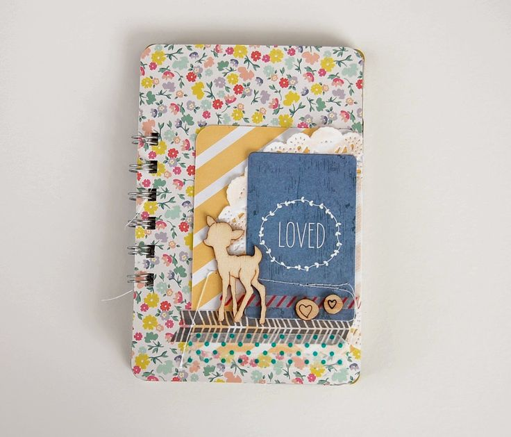 """Mini album """"loved"""" by laeti. Cartes de Project Life & Bind it all"""