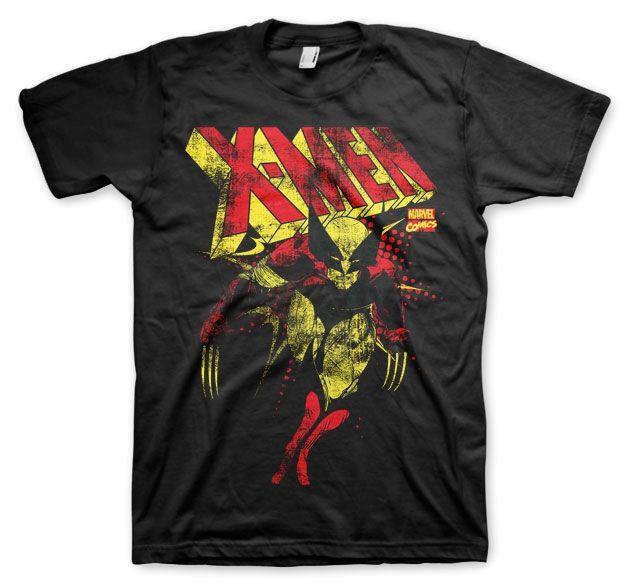 Marvel X-Men Distressed Koszulka Męska