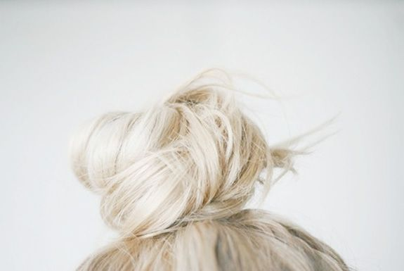 3 Hair Bun Tutorials   Brunch at Saks.... my hair is too short for a top bun! I'm so sad... but when it grows out i will need this tutorial!