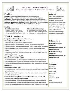clinical experience on nursing resume - Google Search