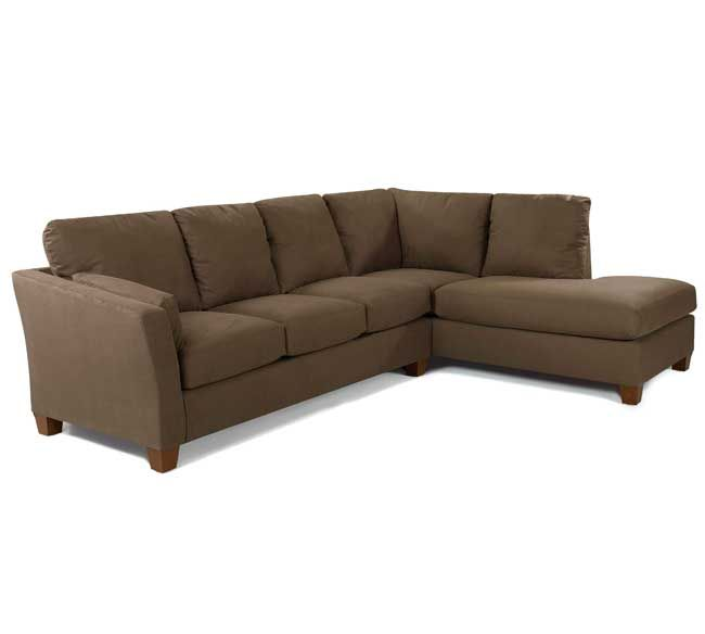 Klaussner Drew Sectional Libre Taupe Microfiber  sc 1 st  Pinterest : drew sectional sofa - Sectionals, Sofas & Couches