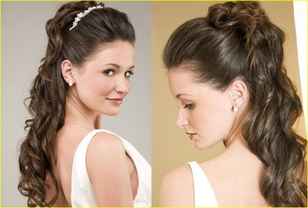 Decent Women Party Hair Style New Designs Collection 2017 18 1 Decent Women Party Hair Style New Design Stylish Hair Hair Styles Party Hairstyles For Long Hair