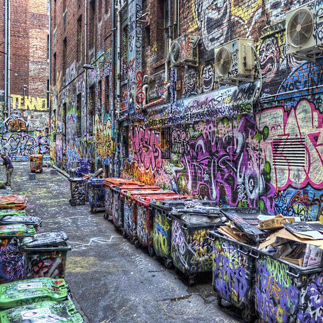 Melbourne: Color Alley, Streetart