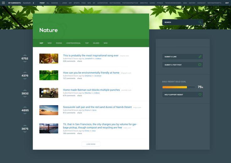 Redesign concepts for popular websites #2 — Muzli -Design Inspiration — Medium