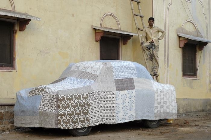 Slipcover for your car - why not ! Required Reading: John Robshaw Prints (Plus a Book Signing) : Remodelista