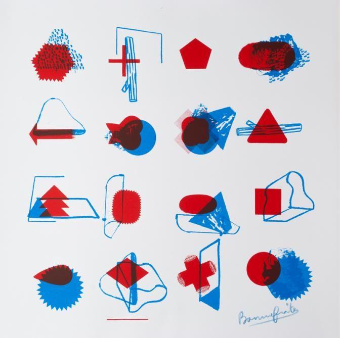 Formes graphiques par le graphiste Bonnefrite (Benoît Bonnemaison-Fitte).