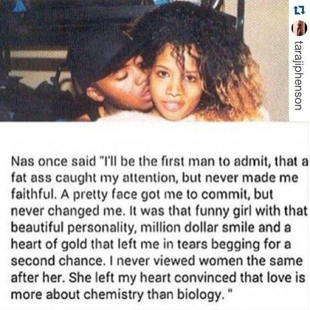 Nas and Kelis.