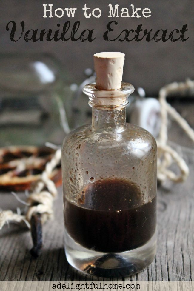 Vanilla, How to make and Homemade vanilla extract on Pinterest