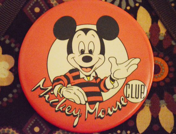 SALE Retro/Vintage 1990s  90s Mickey Mouse by shopthevioletfox