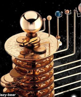 Beautiful Planetarium Brass Orrery Solar System Model Tellurian | eBay