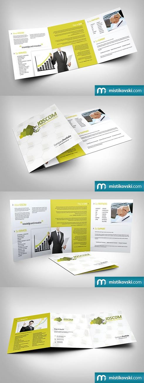 Ioscom | Company Portfolio Brochure | www.mistikovski.com