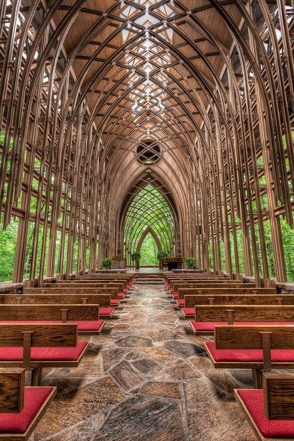 Chapel In The Woods Arkansas