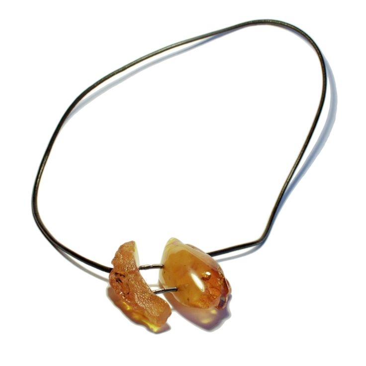 Justyna Stasiewicz - Amber necklace