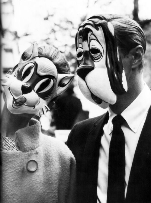 """Audrey Hepburn and George Peppard in """"Breakfast at Tiffany's"""""""