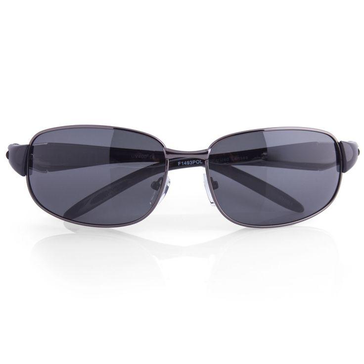 "Polarized Rectangle Women's Luxury Sunglasses ""Lora"""