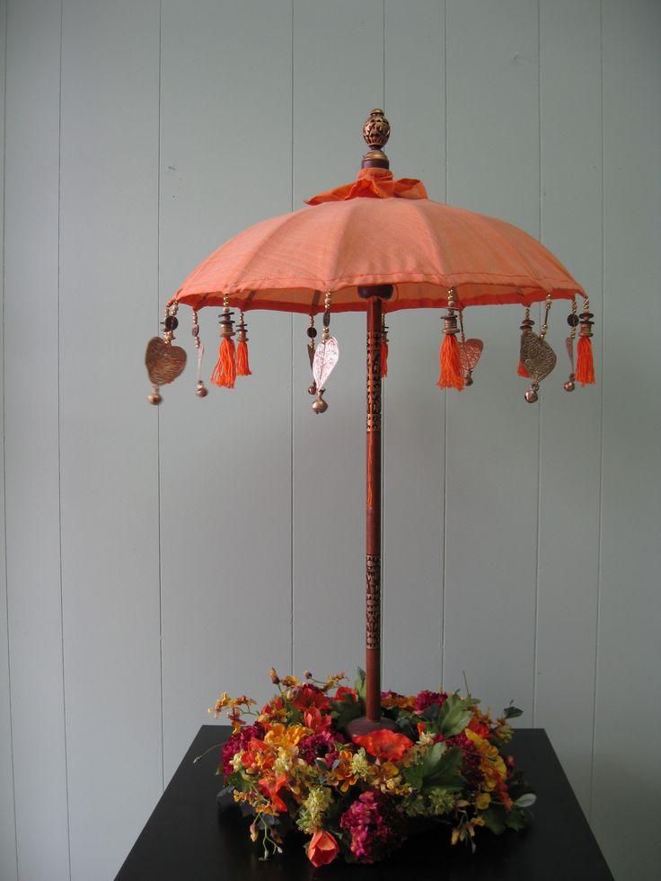 Best umbrella centerpieces images on pinterest