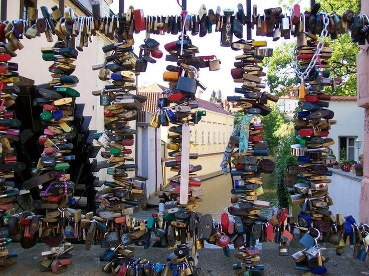 Awesome Love Locks Locations: Prague, Czech Republic (source: wiki)