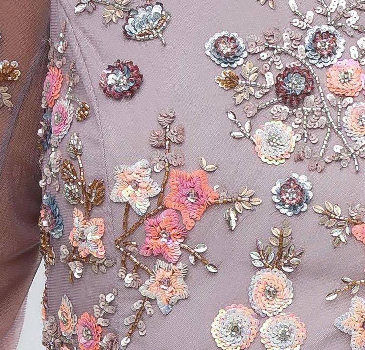 Best sequin embroidery ideas on pinterest beaded