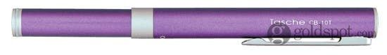 Ohto Tasche Ceramic Purple Rollerball Pen
