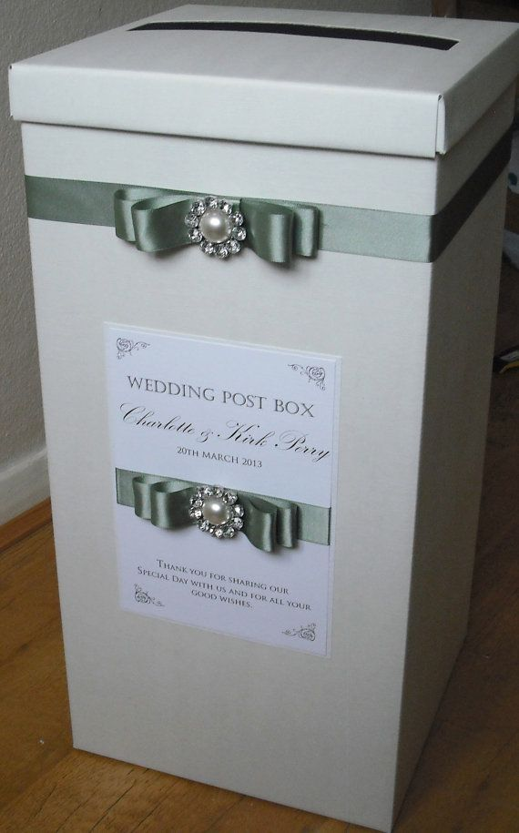 Post box, Wedding post box and Vintage style weddings on Pinterest