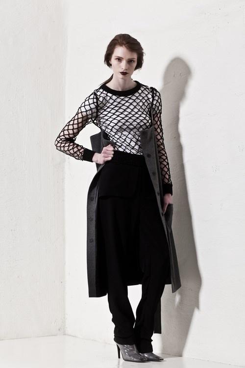ANN-SOFIE BACK - Knit Net Sweater