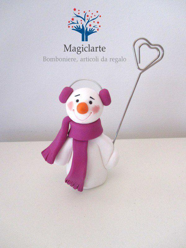 Pupazzo di neve statuina idea regalo, by Magicla, 15,00 € su misshobby.com