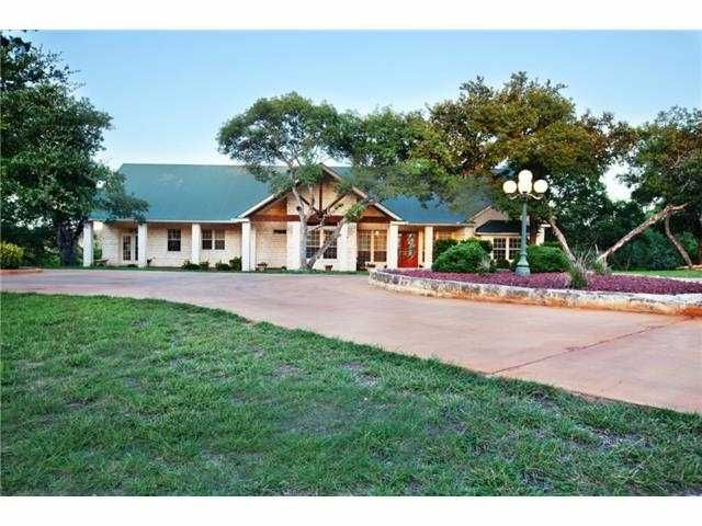 Texas hill country real estate for sale liberty hill for Texas hill country houses for sale