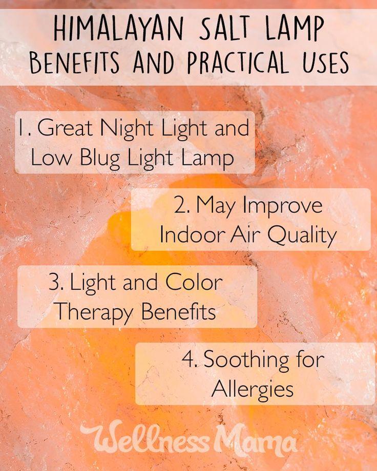 Himalayan Salt Lamp Skin Benefits : 1000+ images about Wellness Mama Natural Home on Pinterest Homemade, Sodas and Mattress