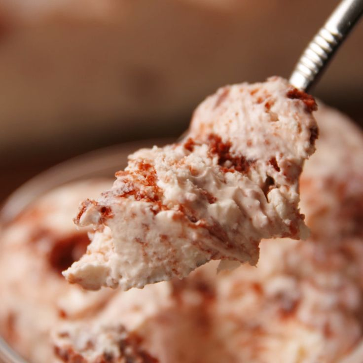 A frozen holiday treat that has us feeling HOT. #food #icecream #redvelvet #christmas #holiday