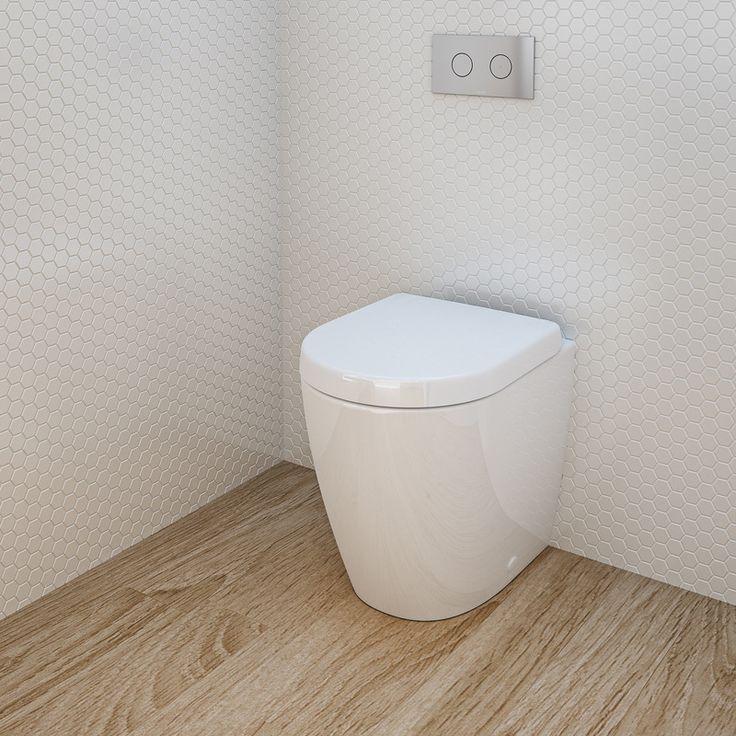 Caroma Urbane Compact Invisi Toilet Suite http://www.caroma.com.au/bathrooms/toilet-suites/urbane/urbane-compact-invisi-series-ii-wall-faced-toilet-suite-