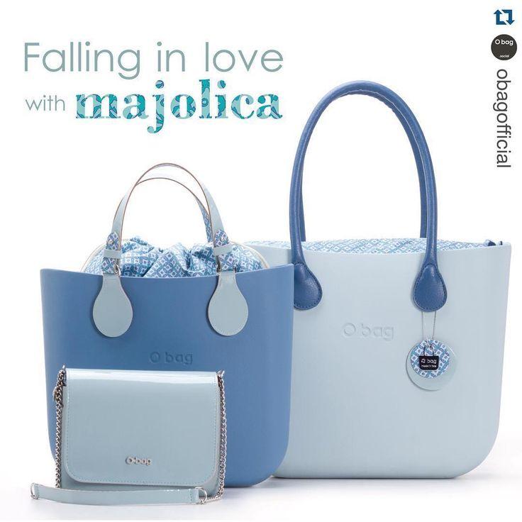 Falling in love with #majolica #Obag #new #spring