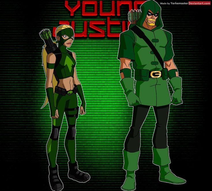 YoungJustice: Green Arrow and Artemis by YorkeMaster ...