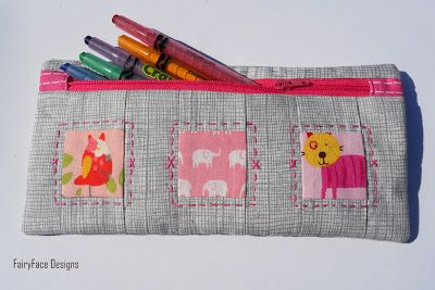 Zippy Pouch Tutorial: Back To School Sewing Series - Ellison Lane Quilts