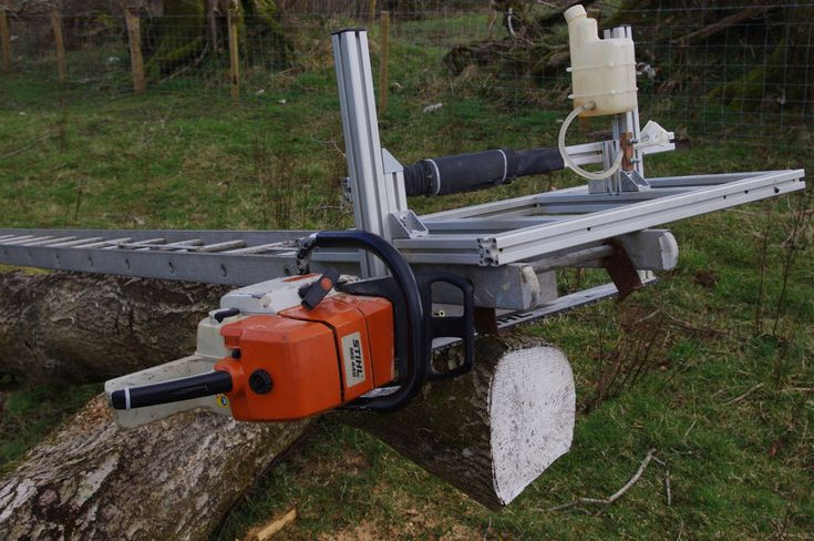 Chainsaw Mill by Bongodrummer - Complete build documentation here: Chainsaw Mill…