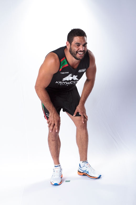 Greg Inglis at the ISC photoshoot