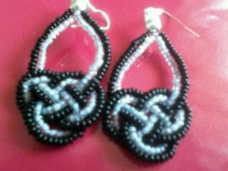 black and blue celtic knots