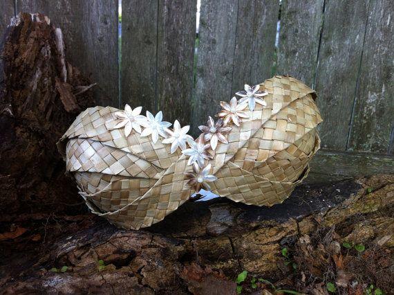 mother of pearl tahitian costume | Tahitian dance costume - Tahitian bra top - Polynesian dance top