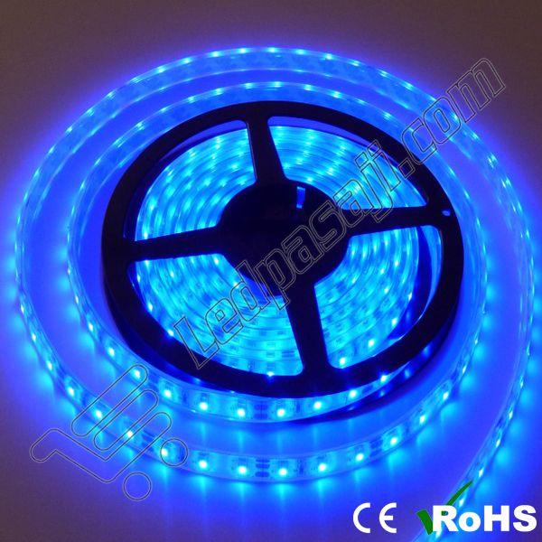 5050 Üç Çipli Mavi İç Mekan Şerit Led 5 Metre - 24.87 TL + KDV