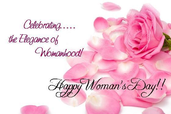 Happy International Woman's Day - 3/8/13