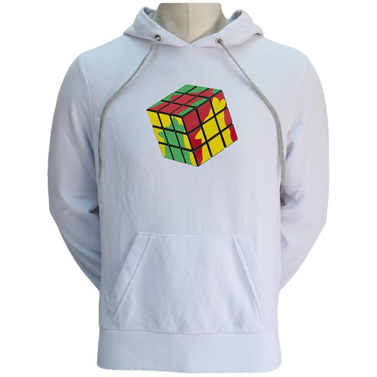 Wolfish Cube Hoodie- WOLFISH WORKSHOP
