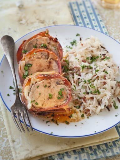 Filet mignon aux pommes en croûte de jambon cru - Recette de cuisine Marmiton : une recette