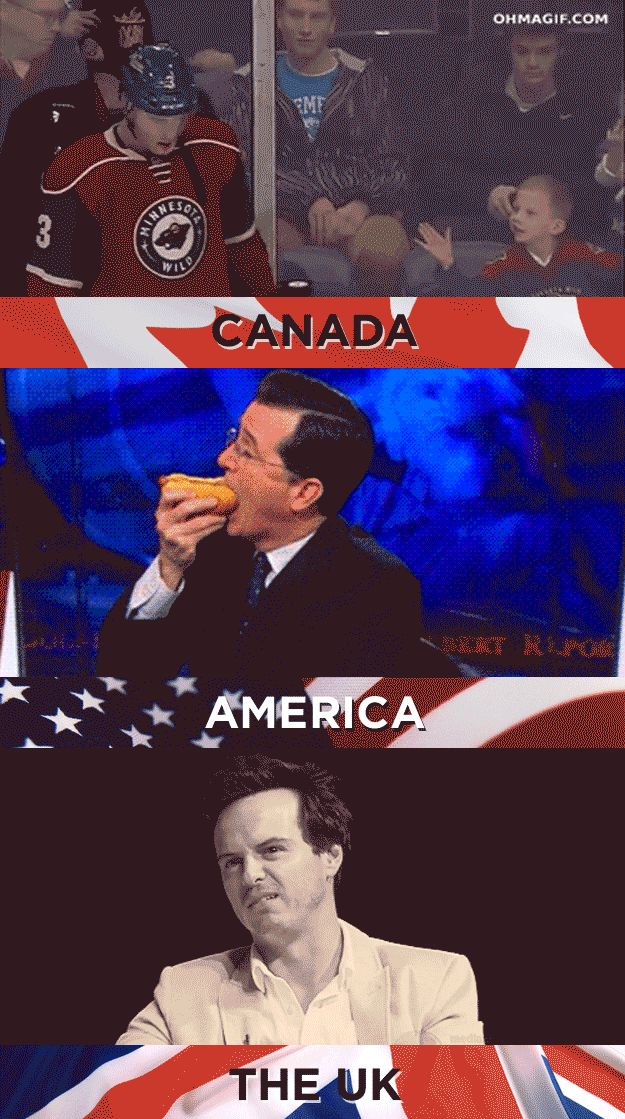 19 Things America, Canada, And The U.K. Cannot AgreeOn