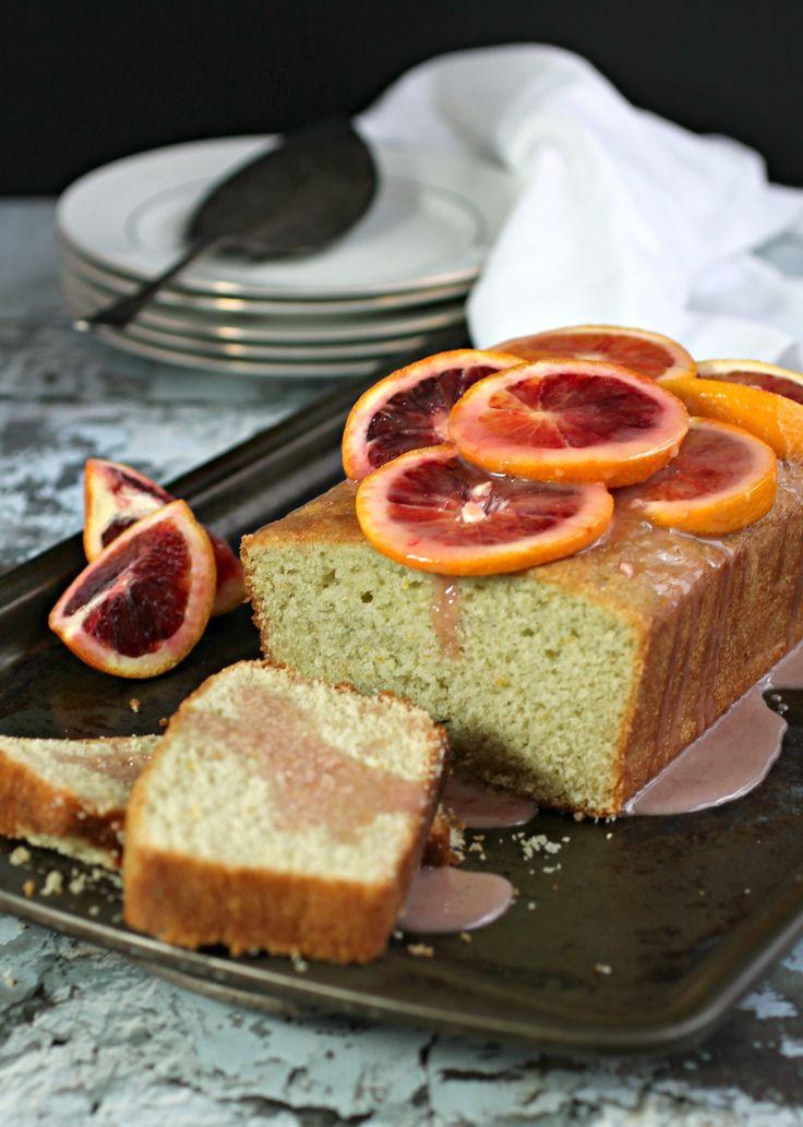 Blood Orange Cardamom Cake with Honey Cardamom Glaze