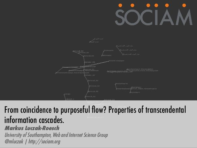 From coincidence to purposeful flow? Properties of transcendental inf…